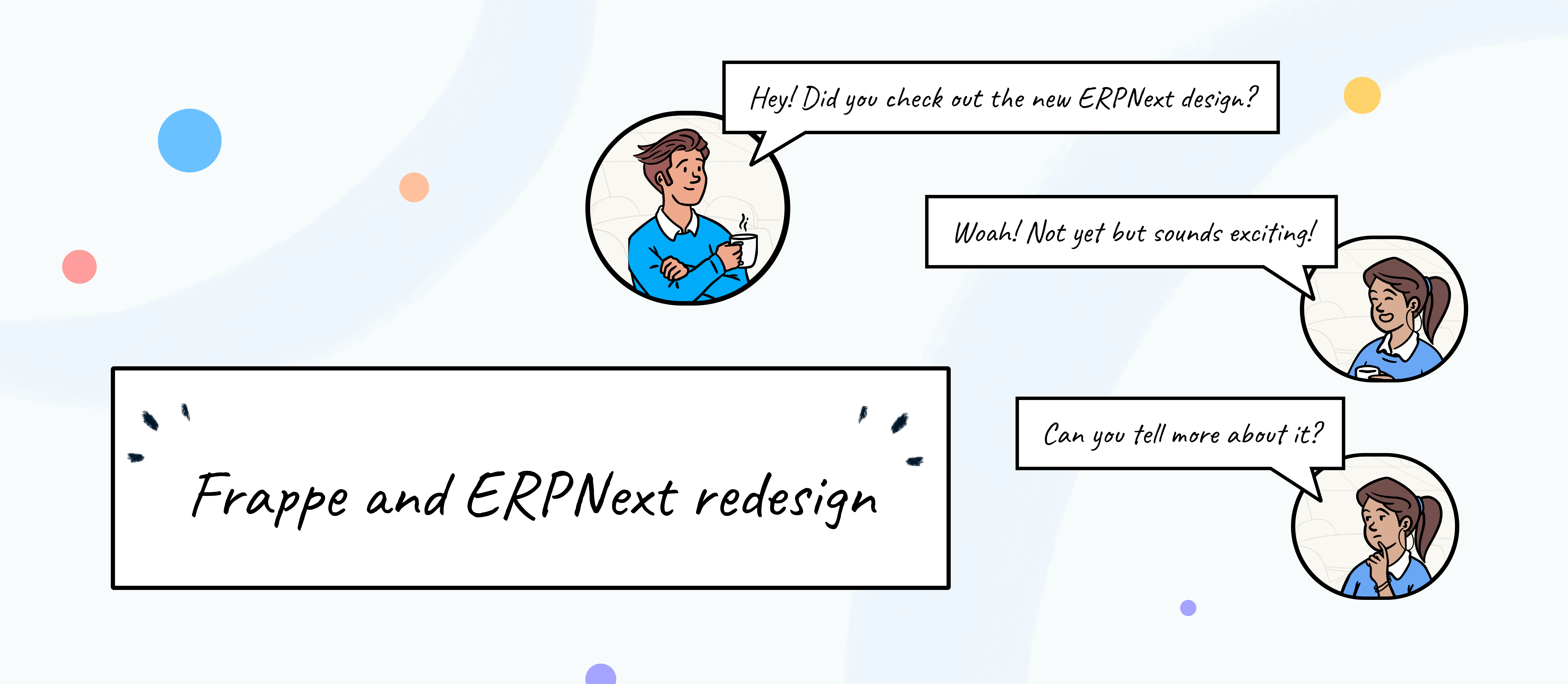 What's new in the Frappe and ERPNext V13 redesign? - Cover Image
