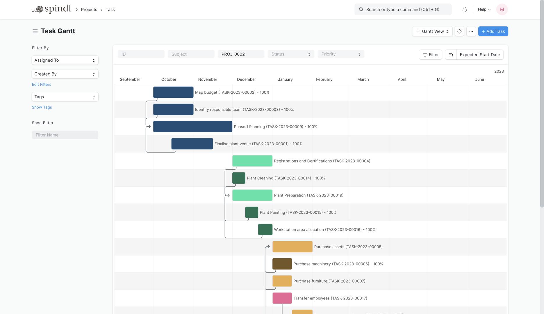 Open Source Project Management Software Erpnext