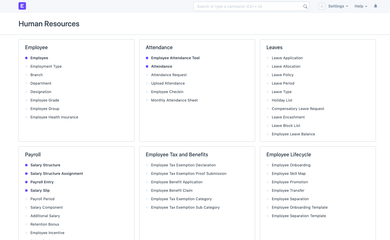 Open Source Employee Management Software - Employee Lifecycle