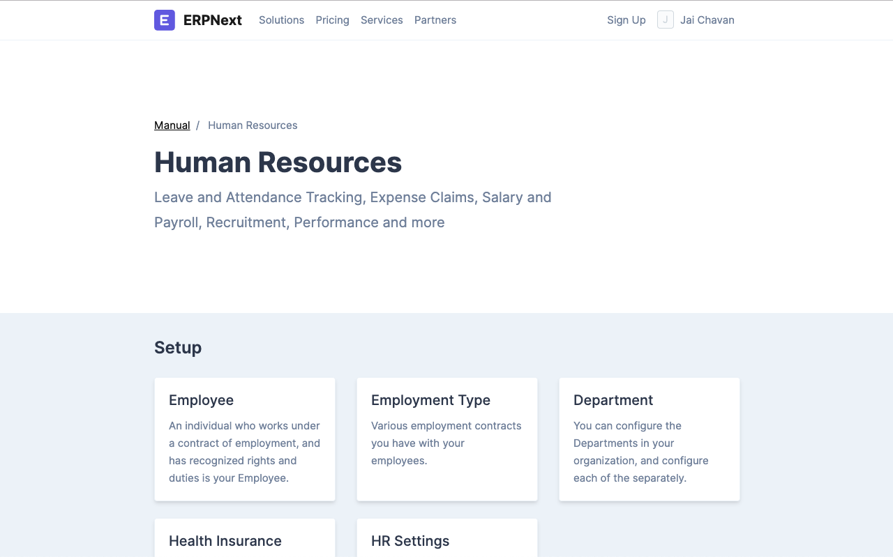 Open Source HRMS Documentation