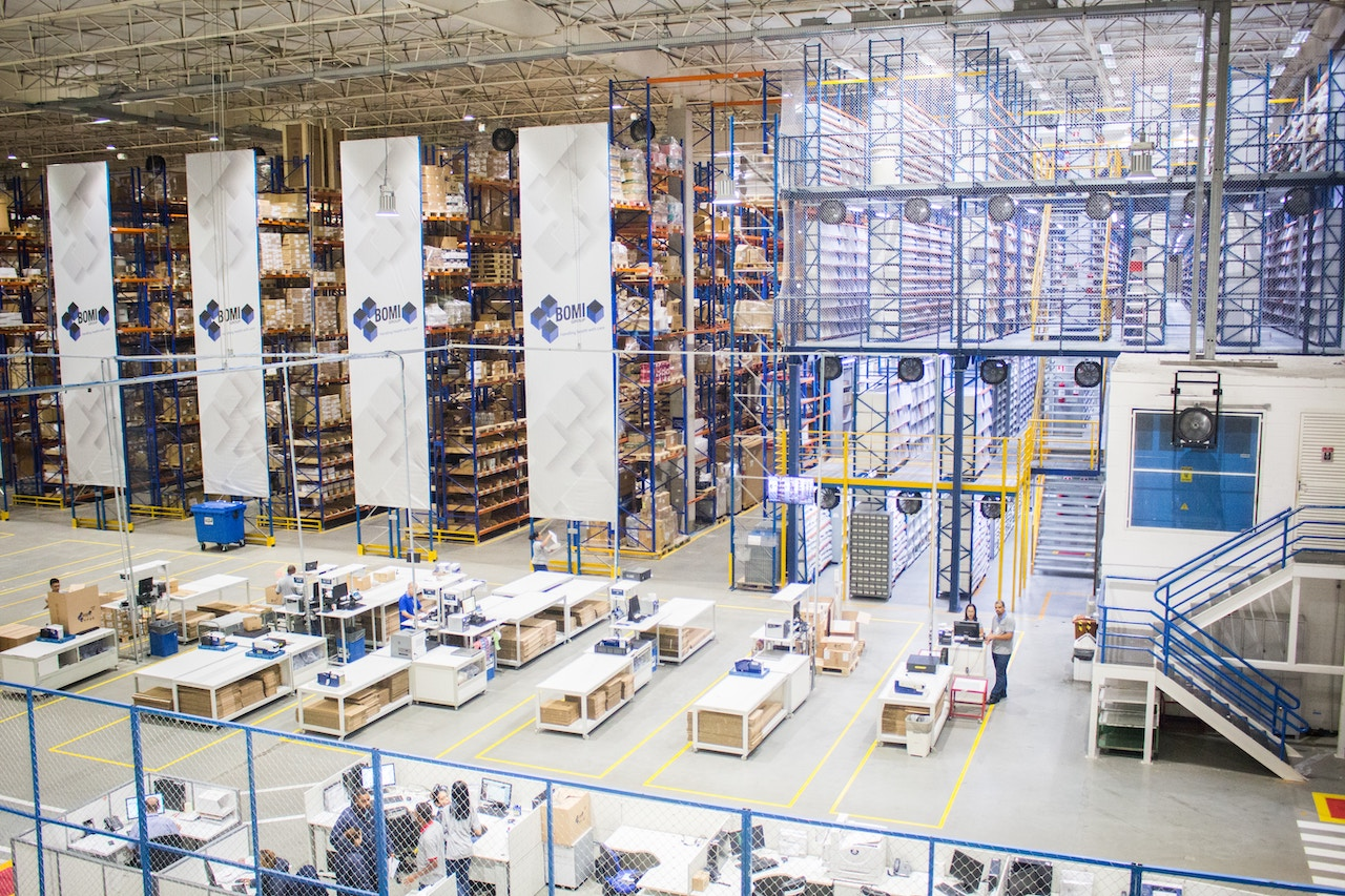 Total Control And Tracking Of All Your Warehouses